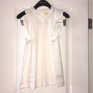 Cloth&Stone Anthropologie white top